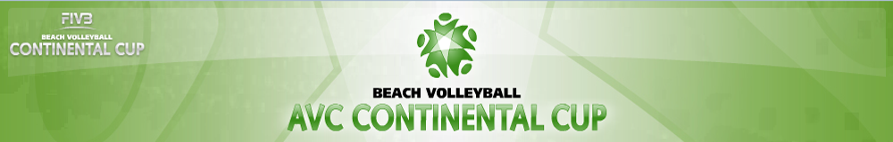 AVC Beach Volelyball Continental Cup 2014-2016