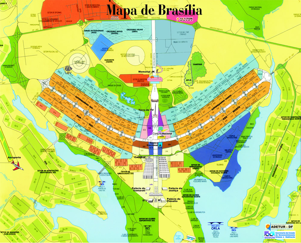 Brasilia Map | Maps