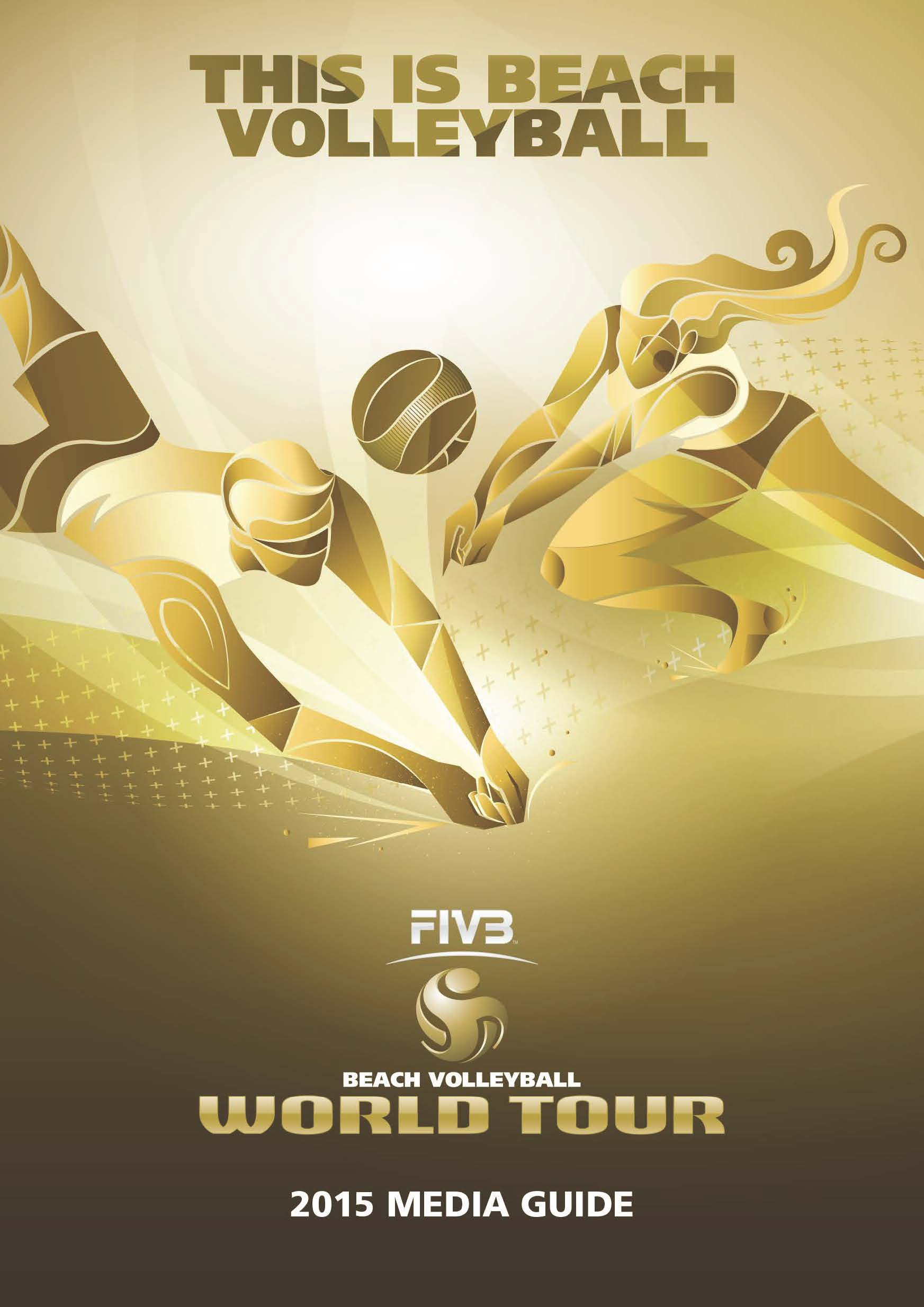 FIVB Beach Volleyball World Tour 2015 Media Guide