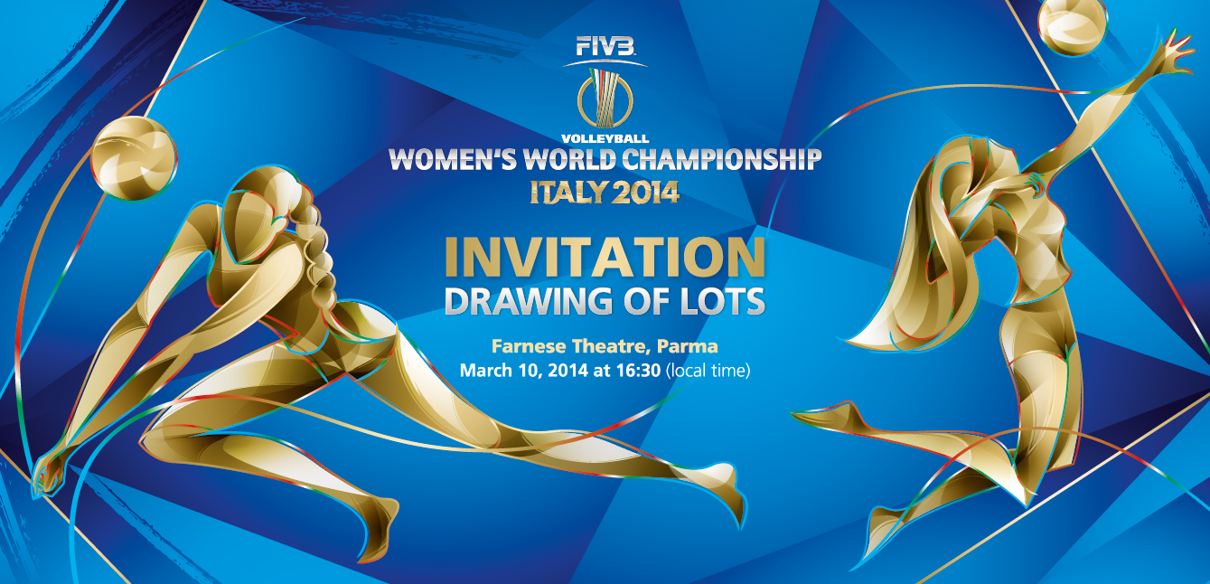 FIVB Women's World Championship Drawing of Lots Invitation