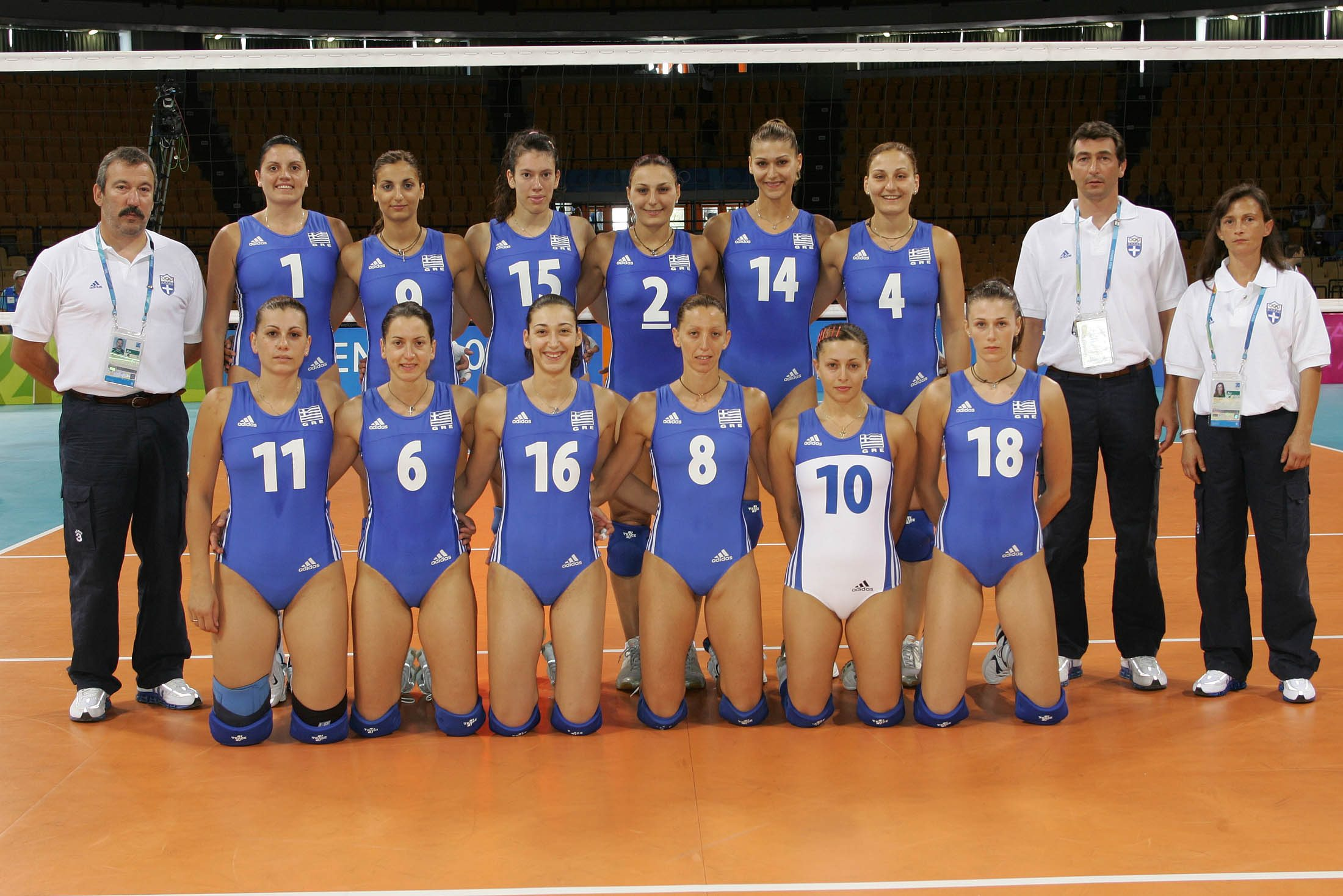 Volleyball olympic games 2004 photo gallery teams