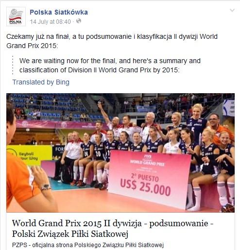 World Grand Prix Group 2 Finals