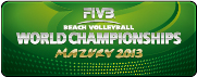 FIVB Beach Volleyball World Championships Mazury 2013