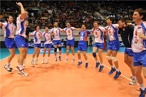 Serbia festeja