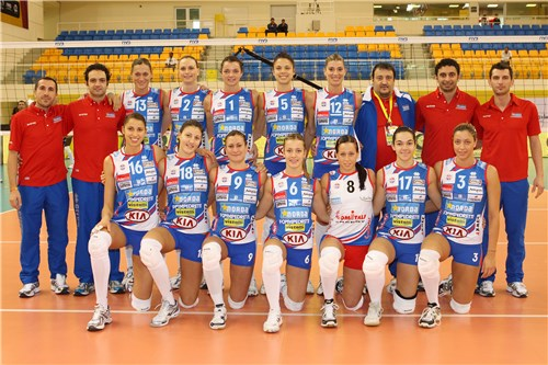 Copa Mundial de Clubes voleibol Femenino....Fenerbahce Campeón Mundial de clubes 2010 GetImage