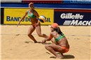 Larissa (left) and Juliana, five time FIVB World Tour