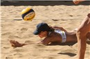 All-American bronze medal match: Hanson digs for the Mikasa