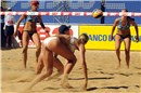 All-American bronze medal match: Hanson and Fendrick tries to save the Mikasa