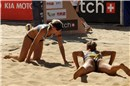 All-American bronze medal match: Kessy/Rossa, FIVB World champion, defeat Hanson/Fendrick and finish 3rd in Brasília
