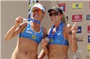 Bronze medal to Americans Ross (#1) and Kessy in Brasília