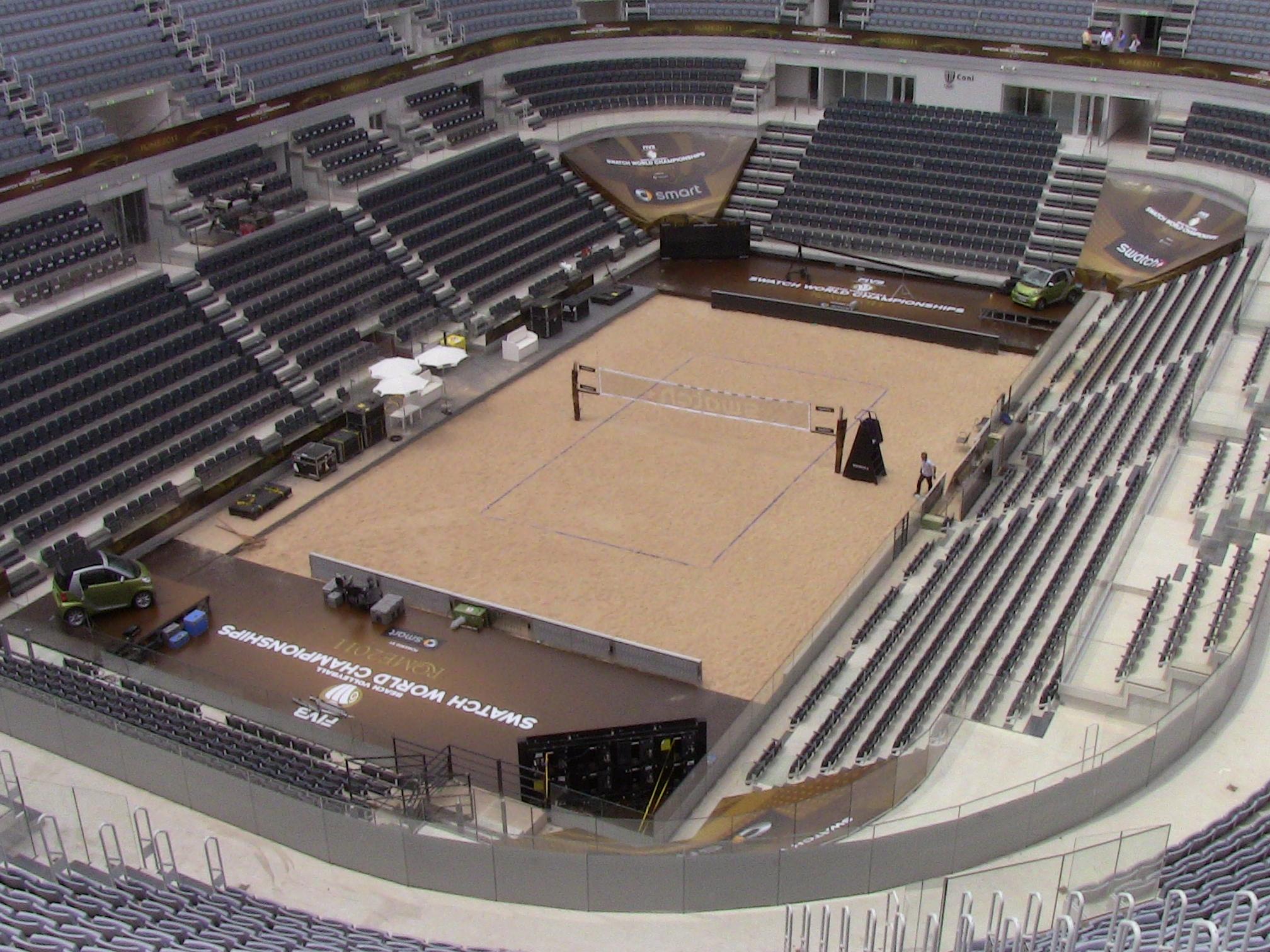 Centre Court at Foro Italico