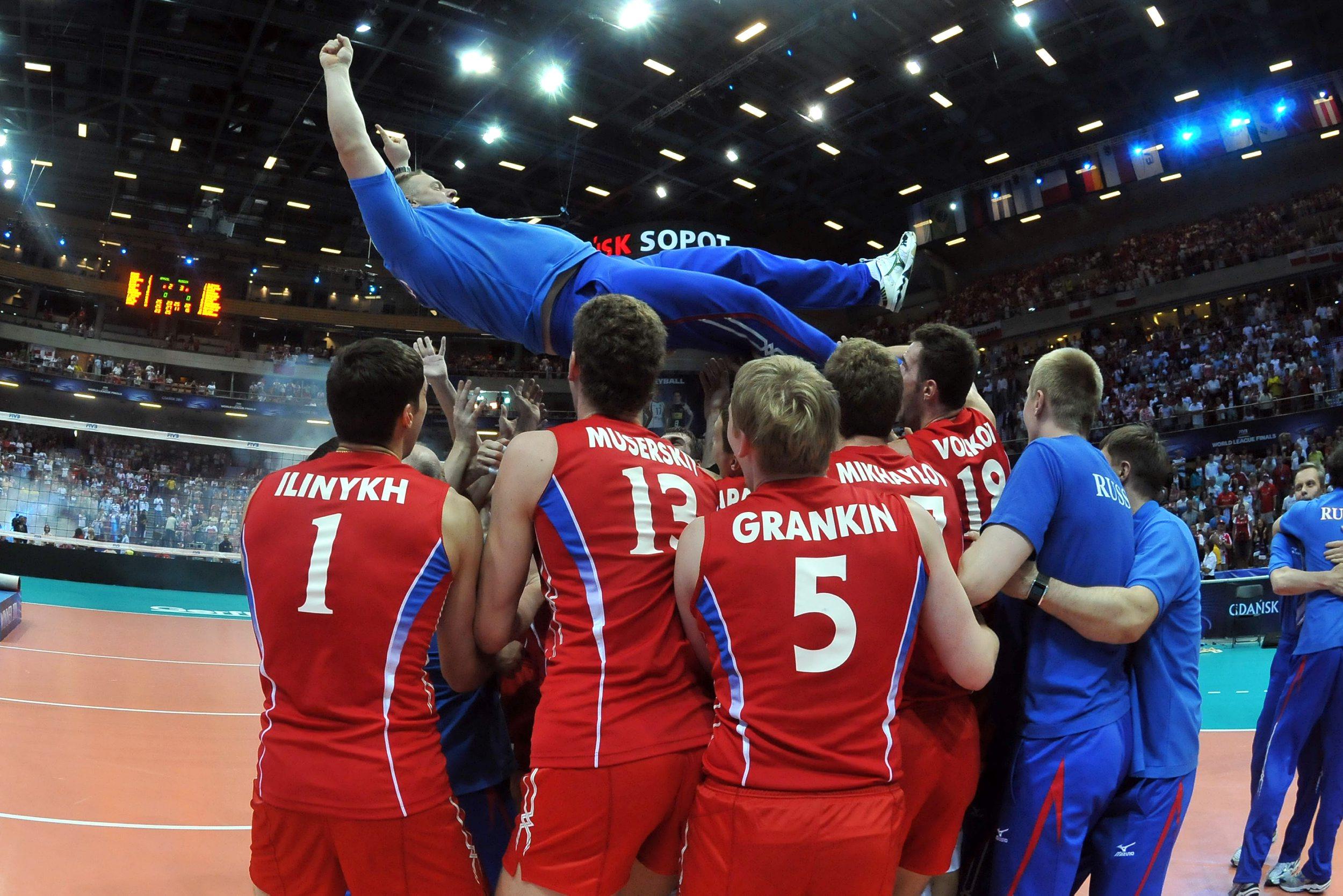 Сборная россии по волейболу на