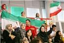 Iran's fans at Tokyo Metropolitan Gymnasium