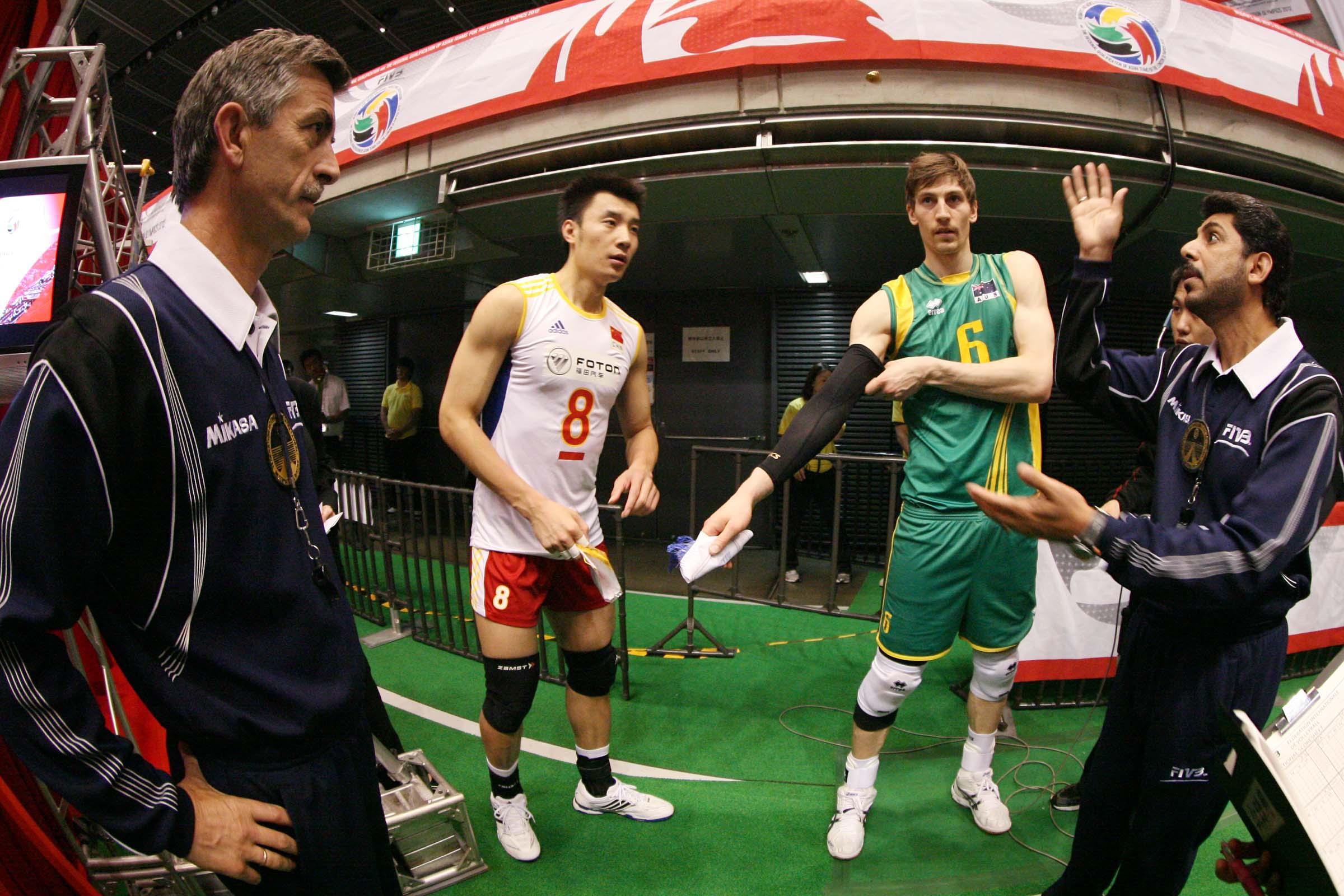 نتیجه ی زنده ی بازی والیبال چين - استراليا/استرالیا به جای ایران به المپیک رفت
