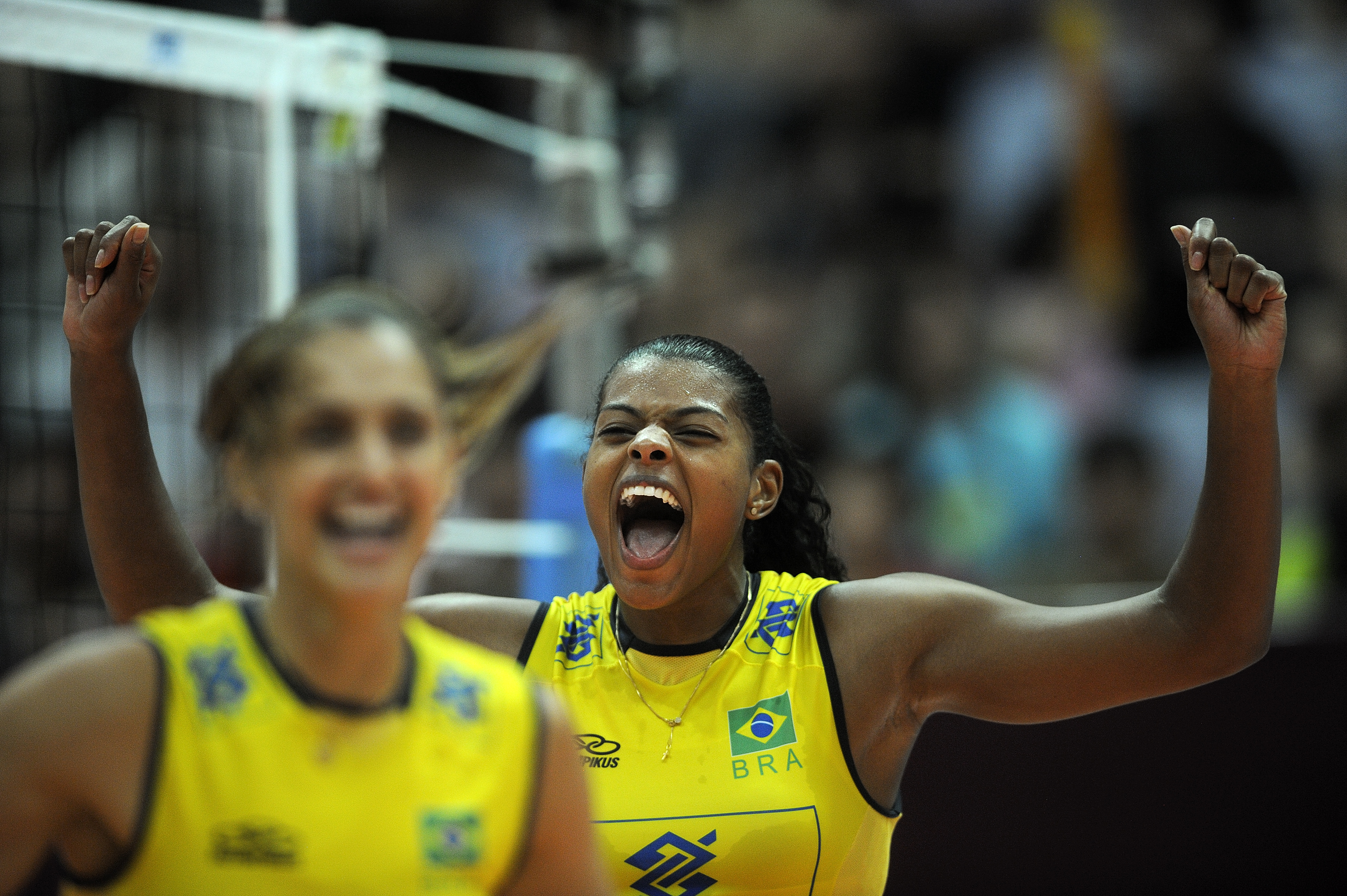 Fernanda Rodrigues feel excited about the victory