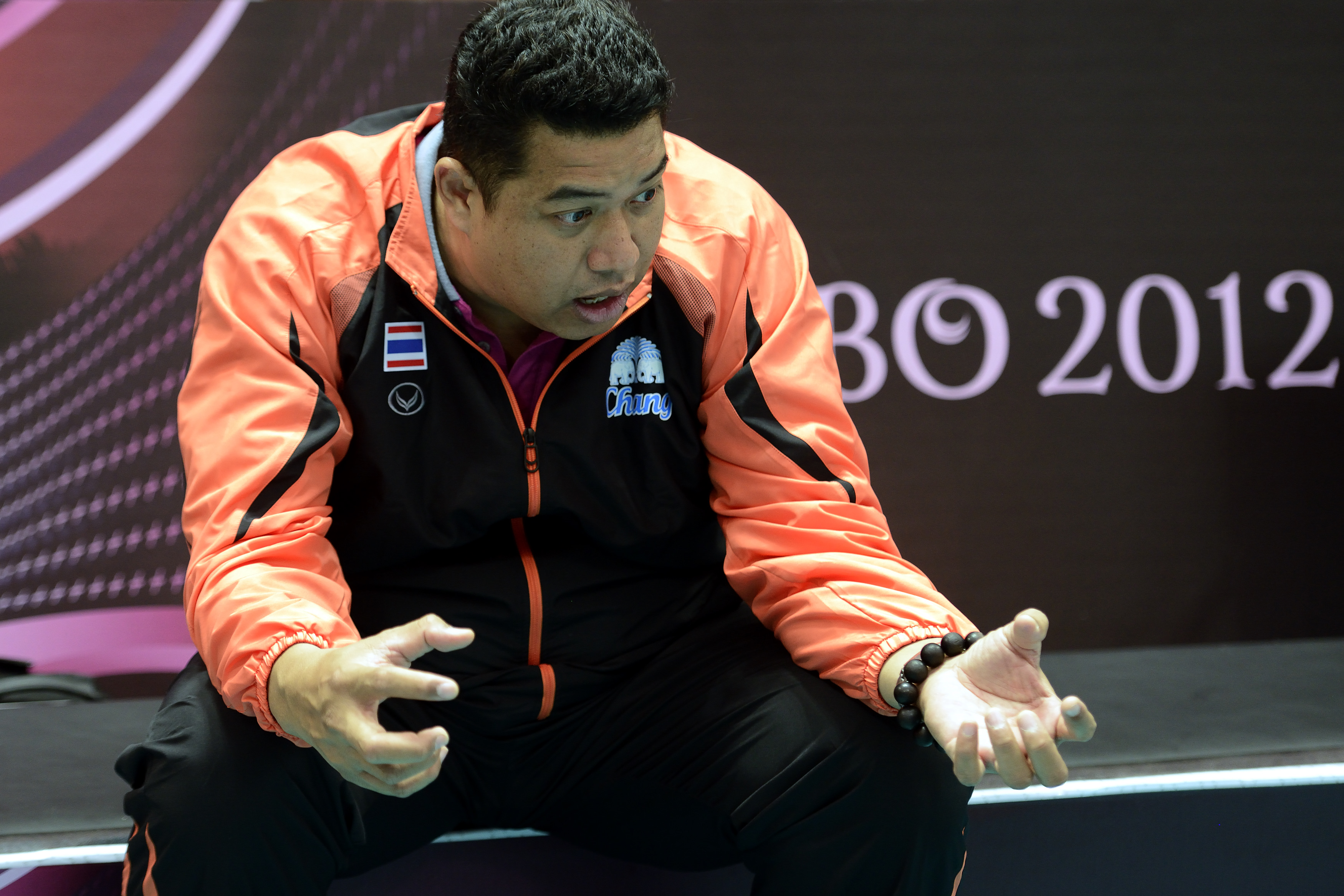 Head coach Kiattipong Radchatagriengkai feel disappointed about the 0-3 loss to Brasil