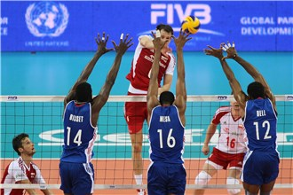Poland v Cuba in World League 2013