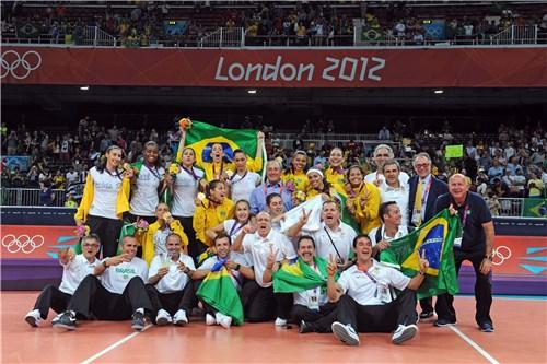 Oro para Brasil