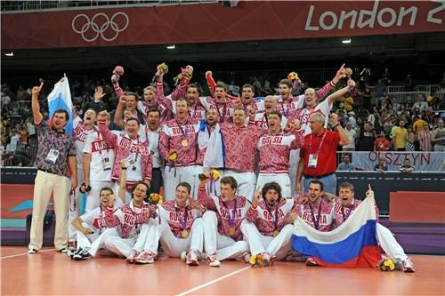 Rusia festeja