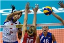 Jovana Brakocevic tried hard to tear open the American defense