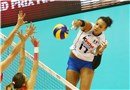 Italy\'s Valentina Diouf attacks over Serbia\'s defense