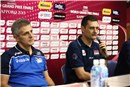 Post-game press conference for Serbia and Italy