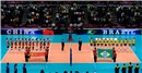 China against Brazil, The final of the Grand Prix 2013 starts