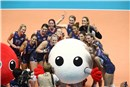 Team USA, taking a picture with