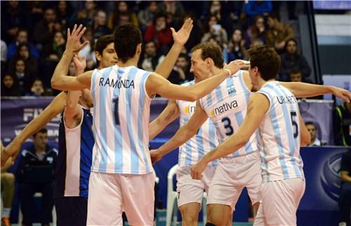 Argentina festeja