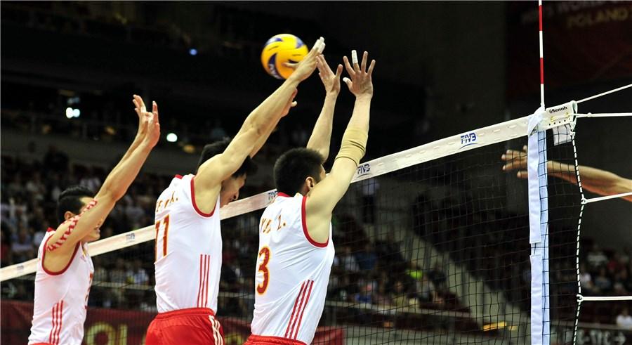 China vence Egito com set final de 33 a 31 na estreia do Mundial de Volei