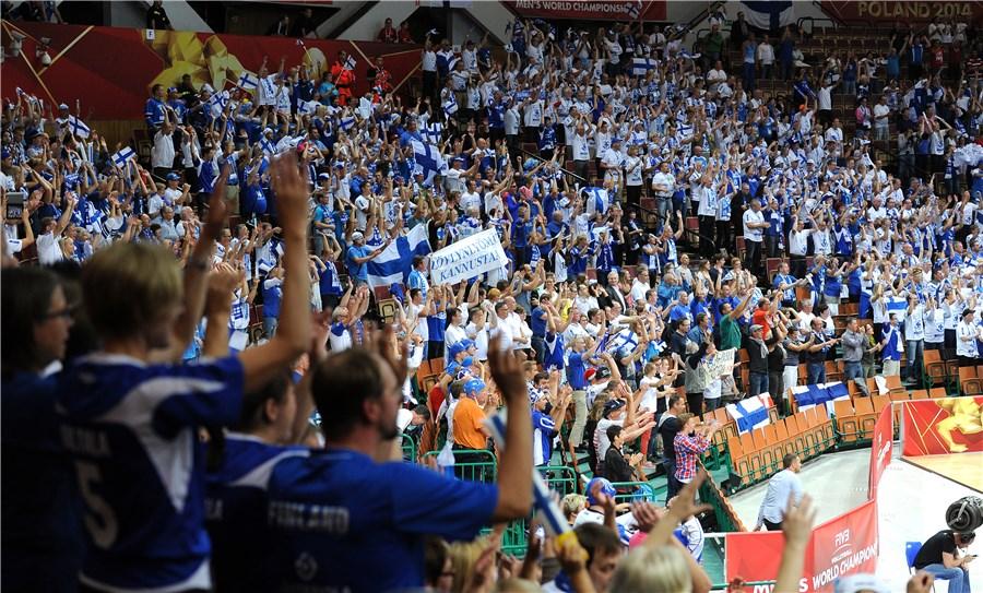 Финские болельщики на чемпионате мира