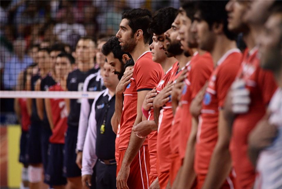 عکسهای بازی دوم تیم ملی والیبال ایران مقابل امریکا