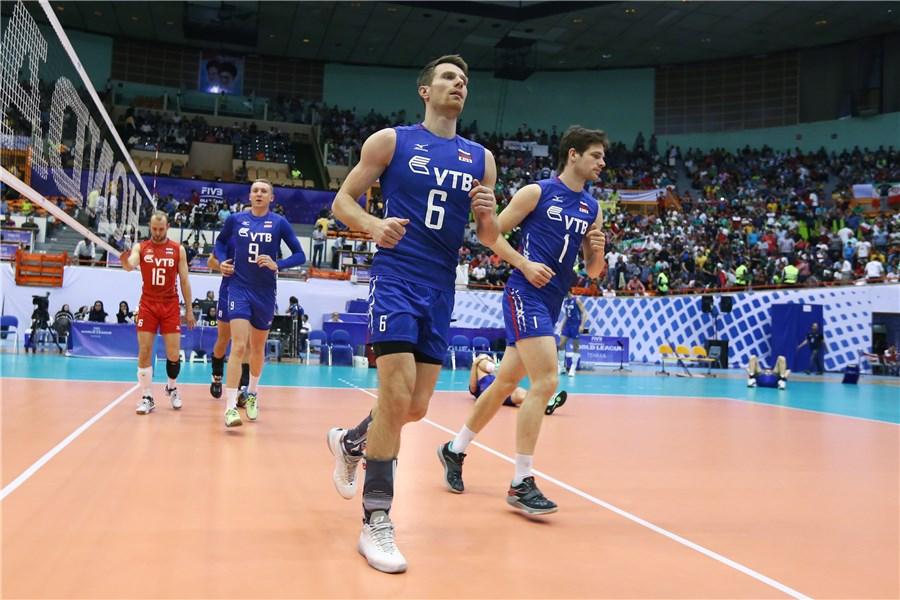 پایان بازی : ایران 3 - 0 روسیه