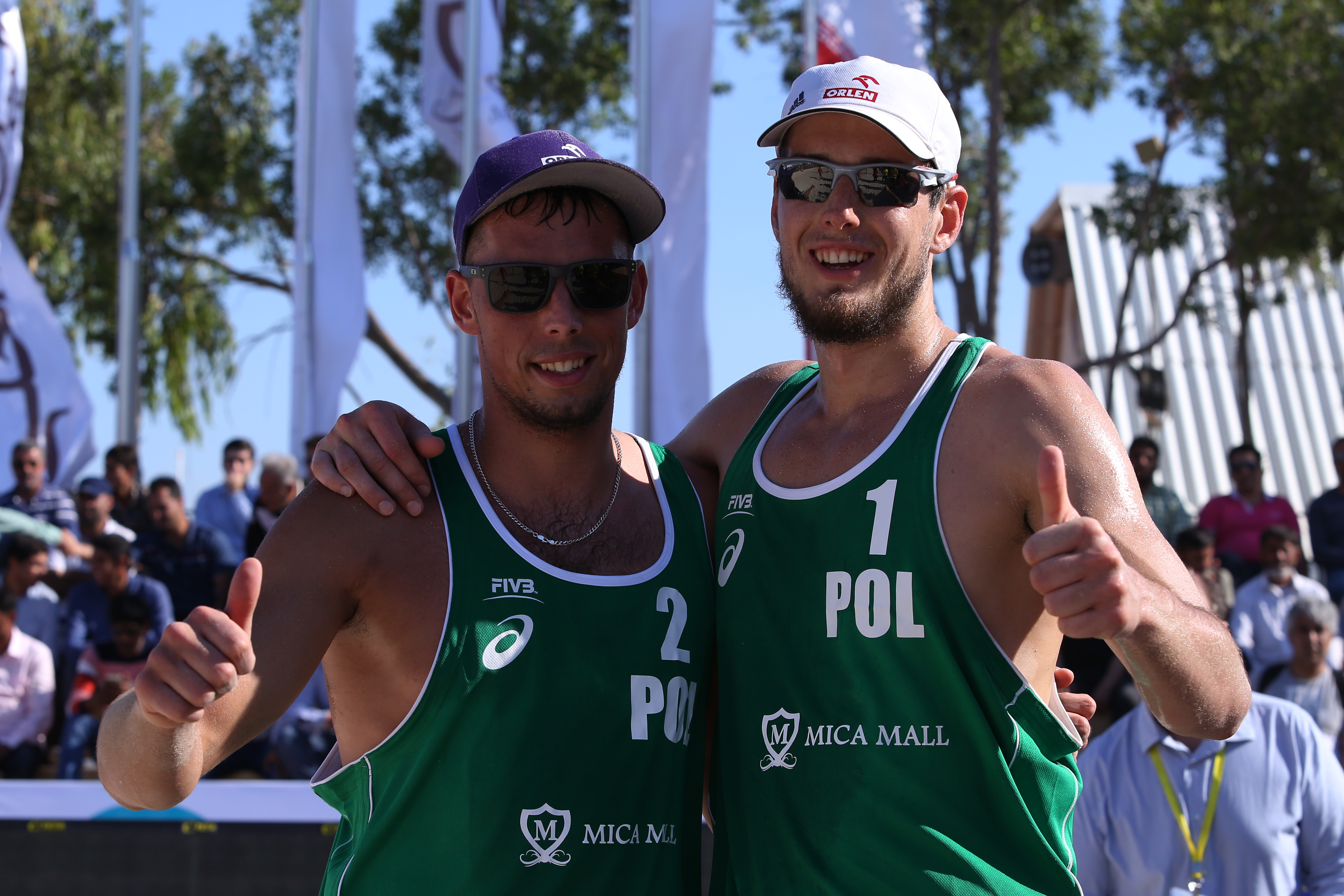 Olympians at Kish Island Open