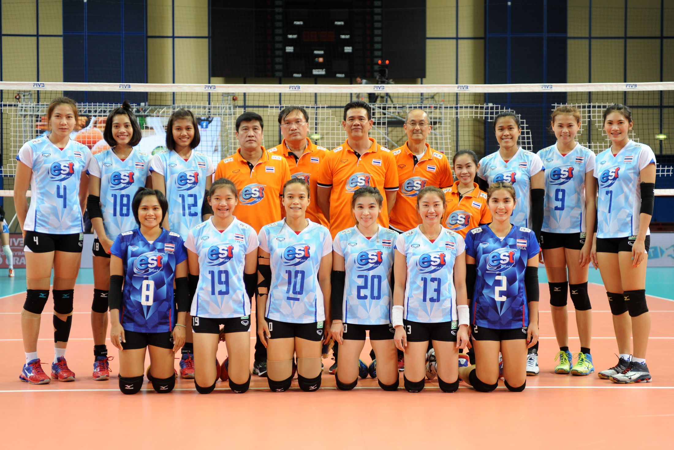 thailand volleyball