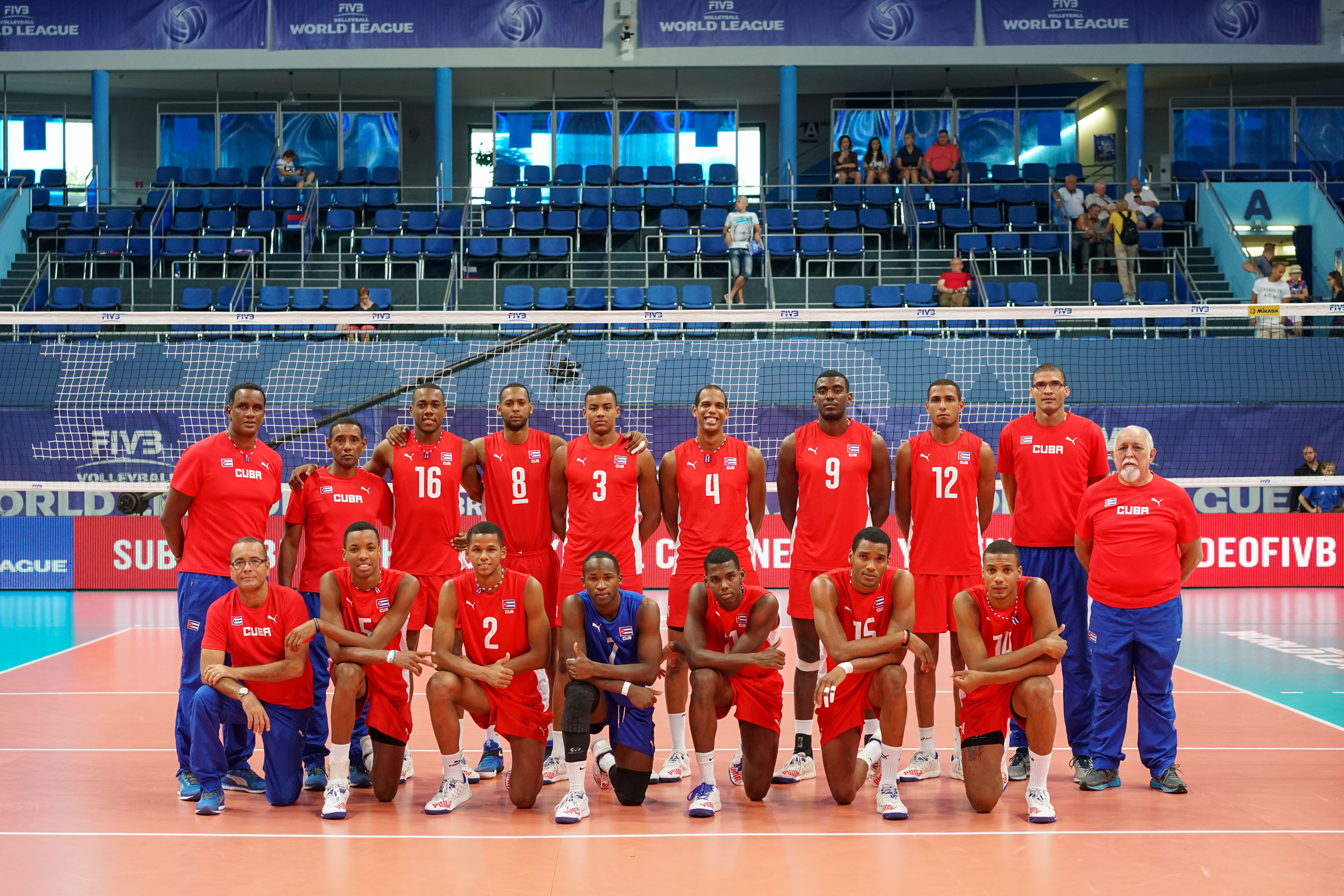Overview - Cuba - FIVB Volleyball World League 2016