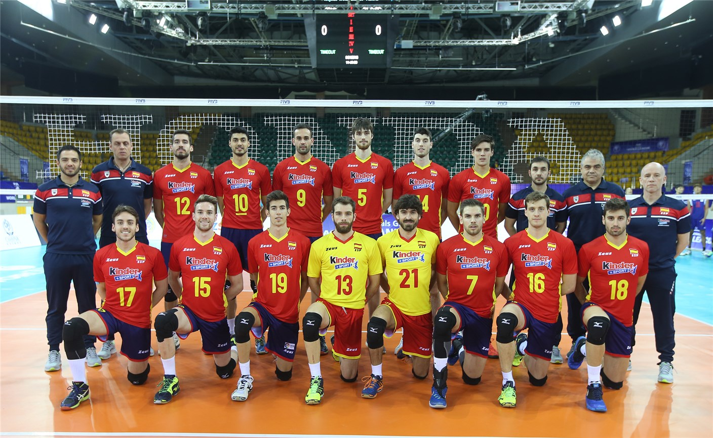 Image result for spain national Volleyball men's team