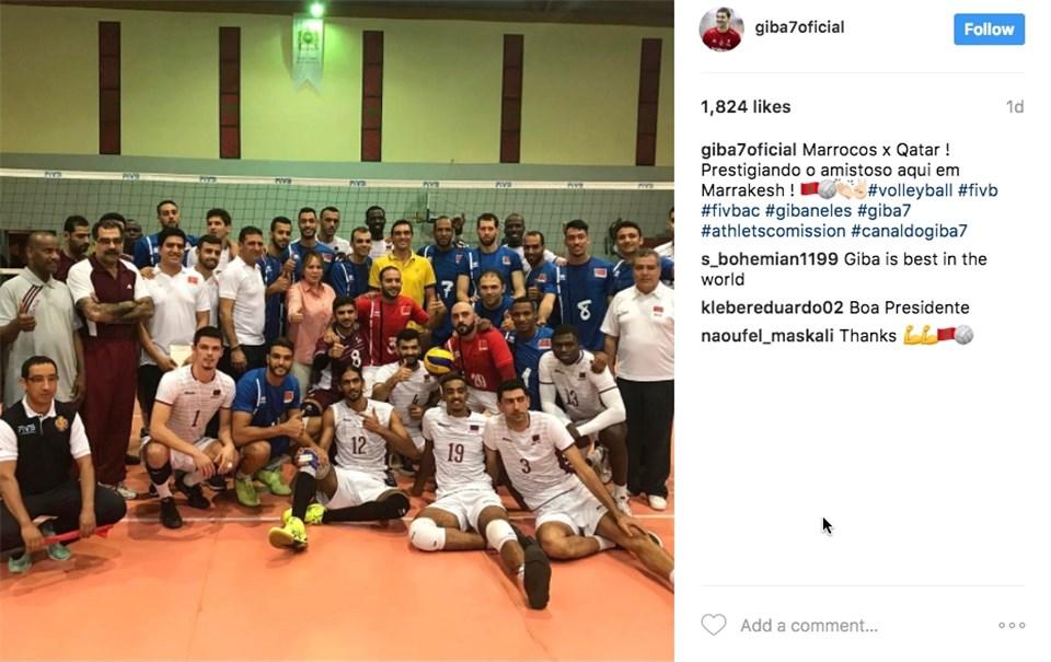 Morocco v Qatar friendly match