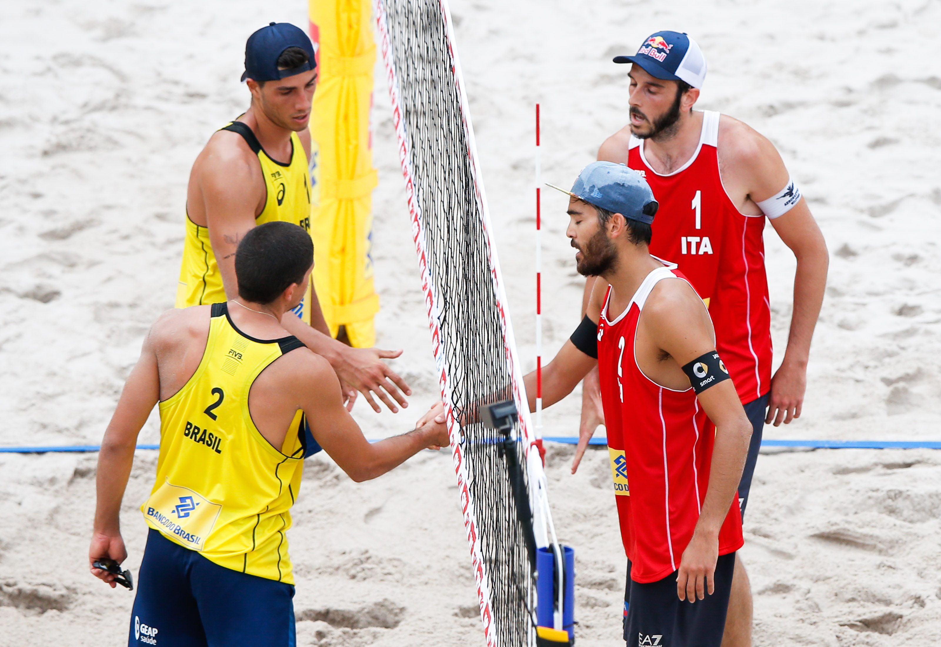 Brazil, Italy, Poland and United States vie for men's Rio