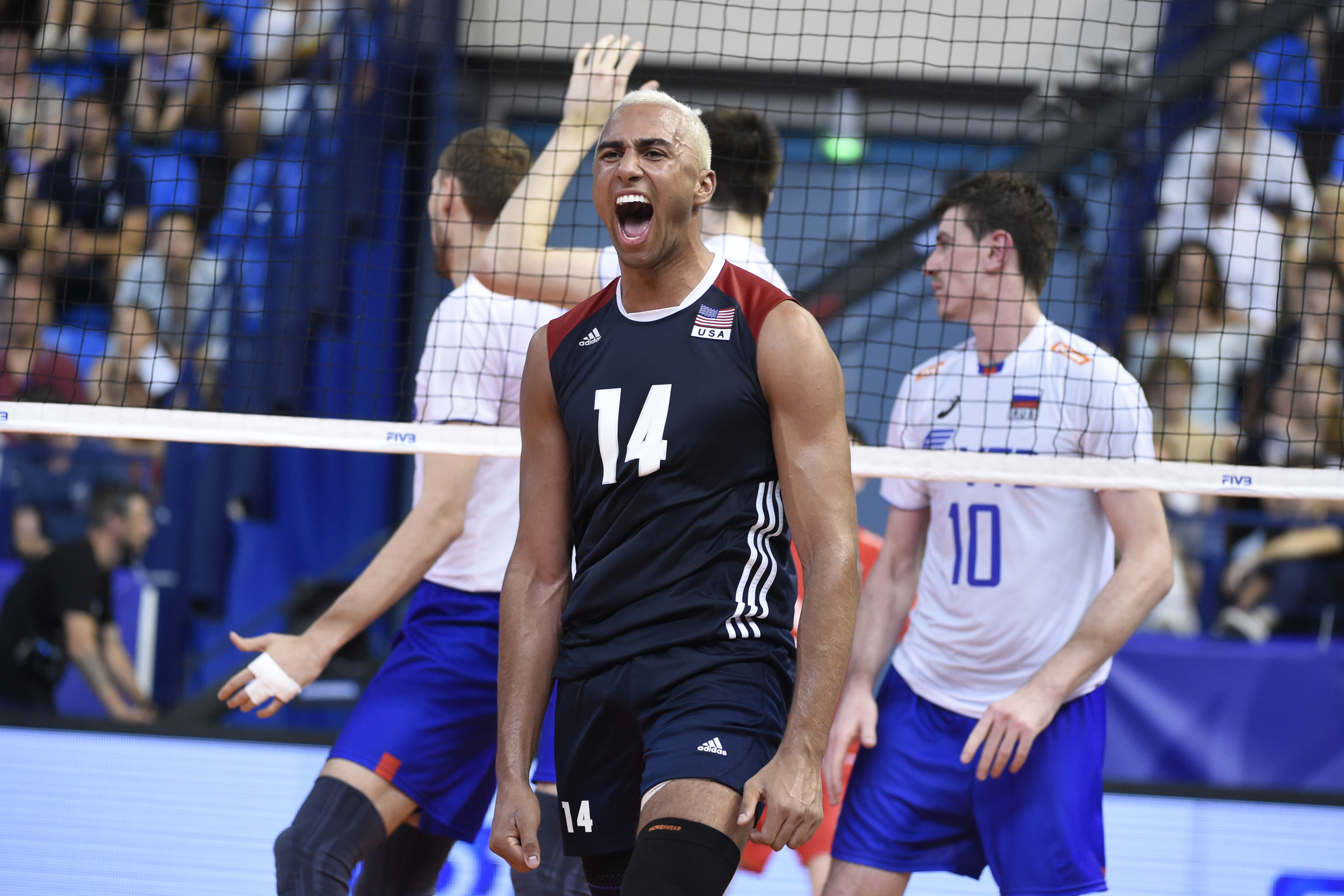 Fivb World League 2017 News Detail Best Players Usa S Patch Sets Personal Scoring Mark In Win Against Iran Fivb Volleyball World League 2017