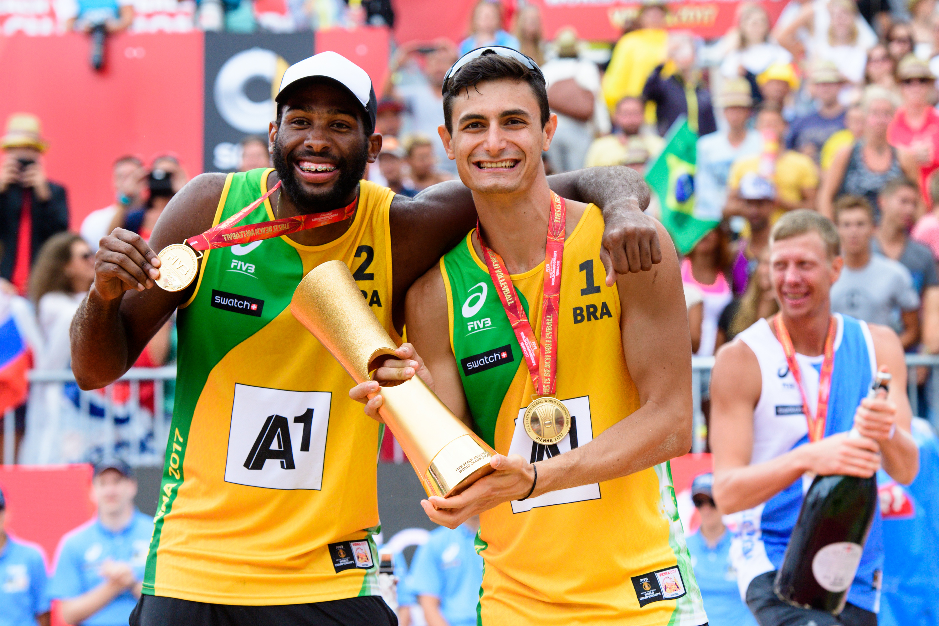 Bruno and Evandro team up for Tokyo 2020
