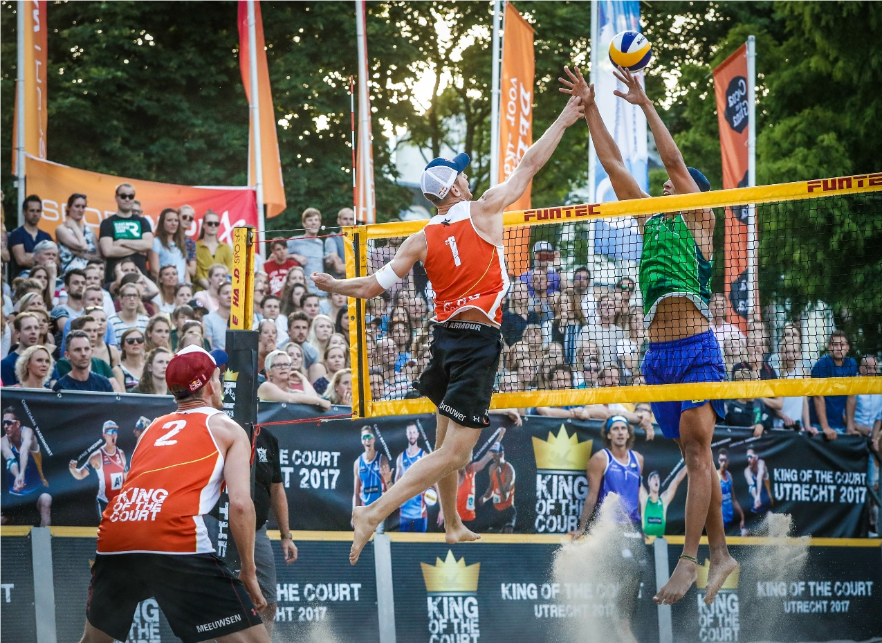 News A New Era In Beach Volleyball King Of The Court Crown Series 2018