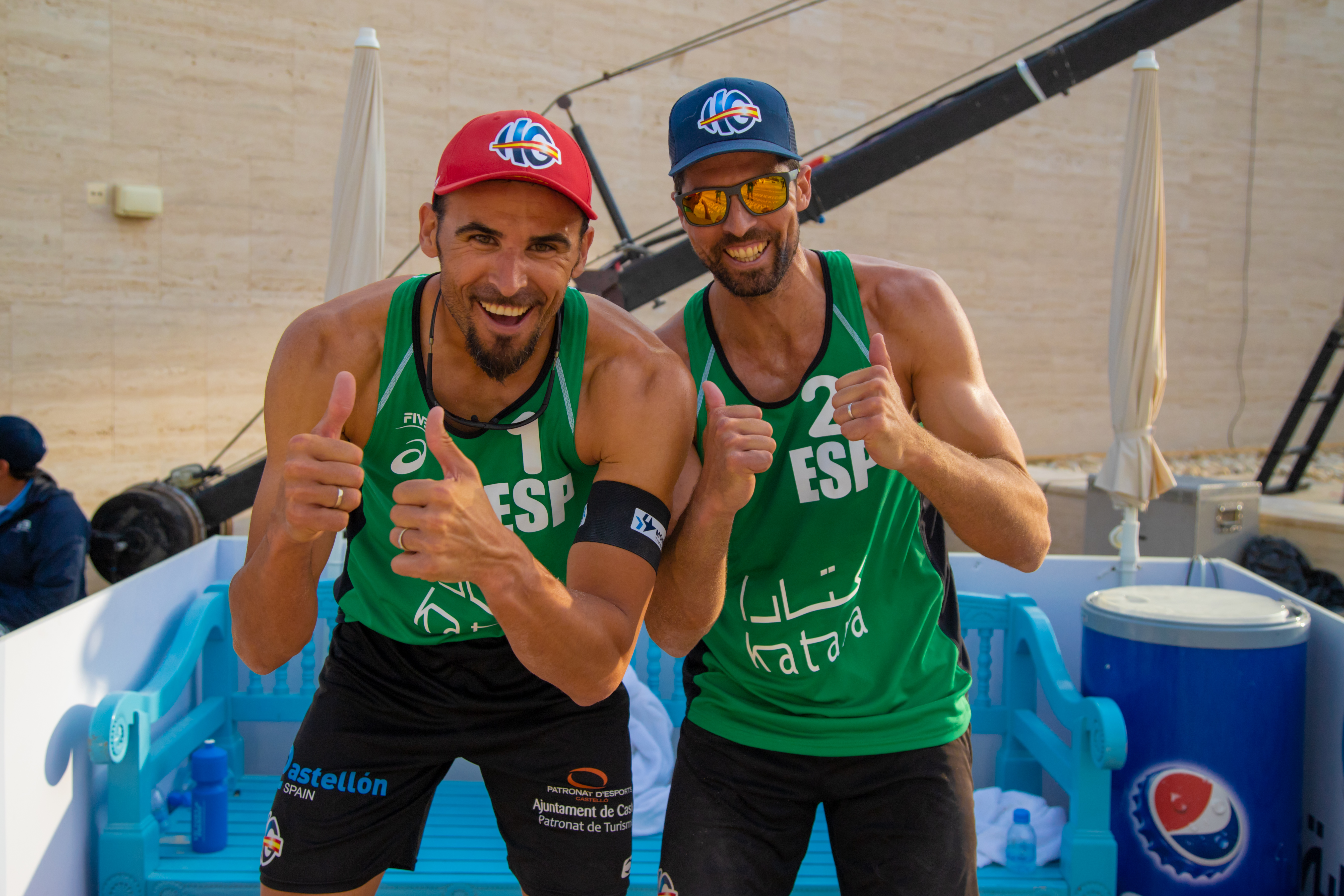 Kantor and Losiak lead way to Doha 4-Star quarterfinals - Doha