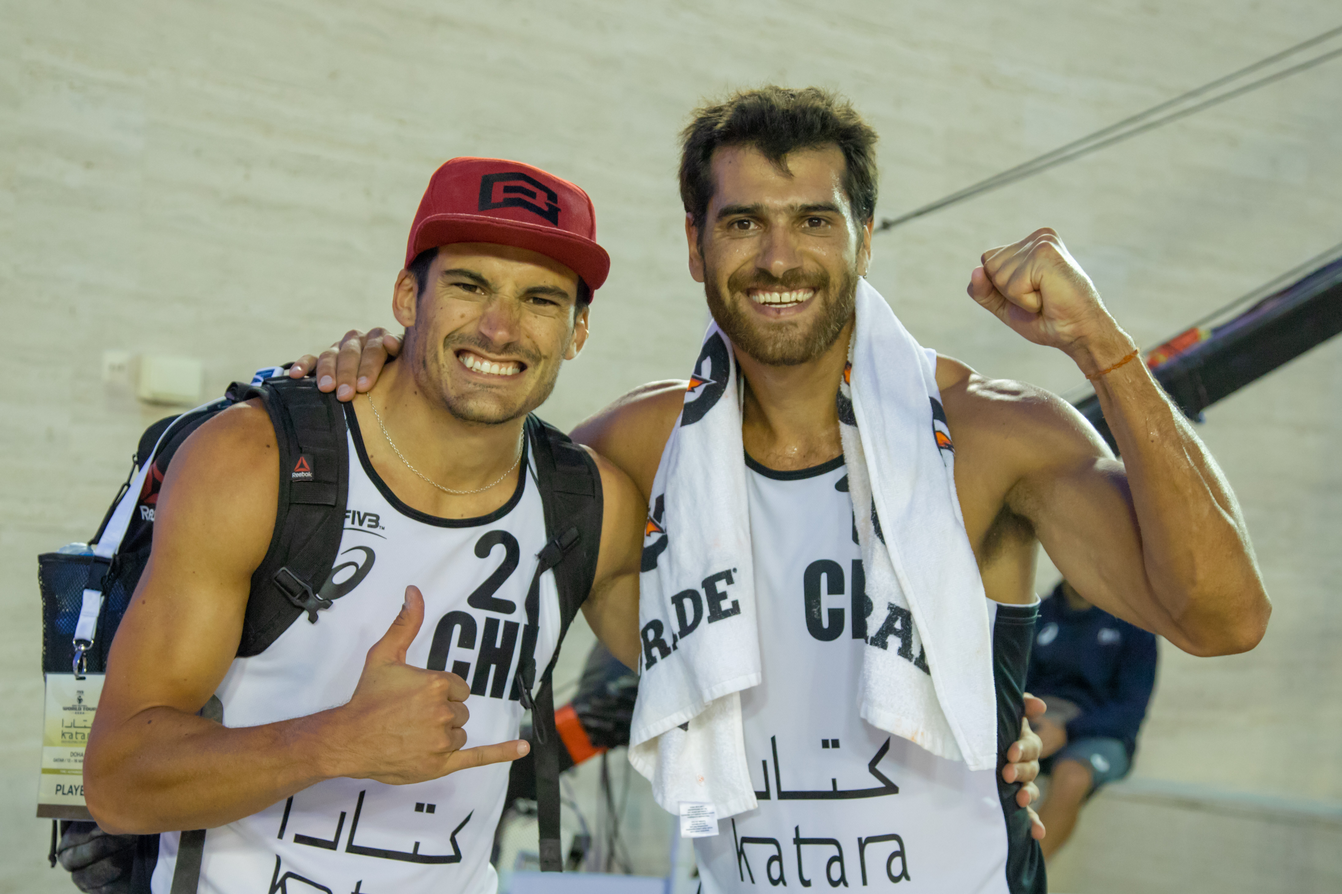 Retirement definitely on hold as Dalhausser and Lucena reach Doha 4-Star final - Doha