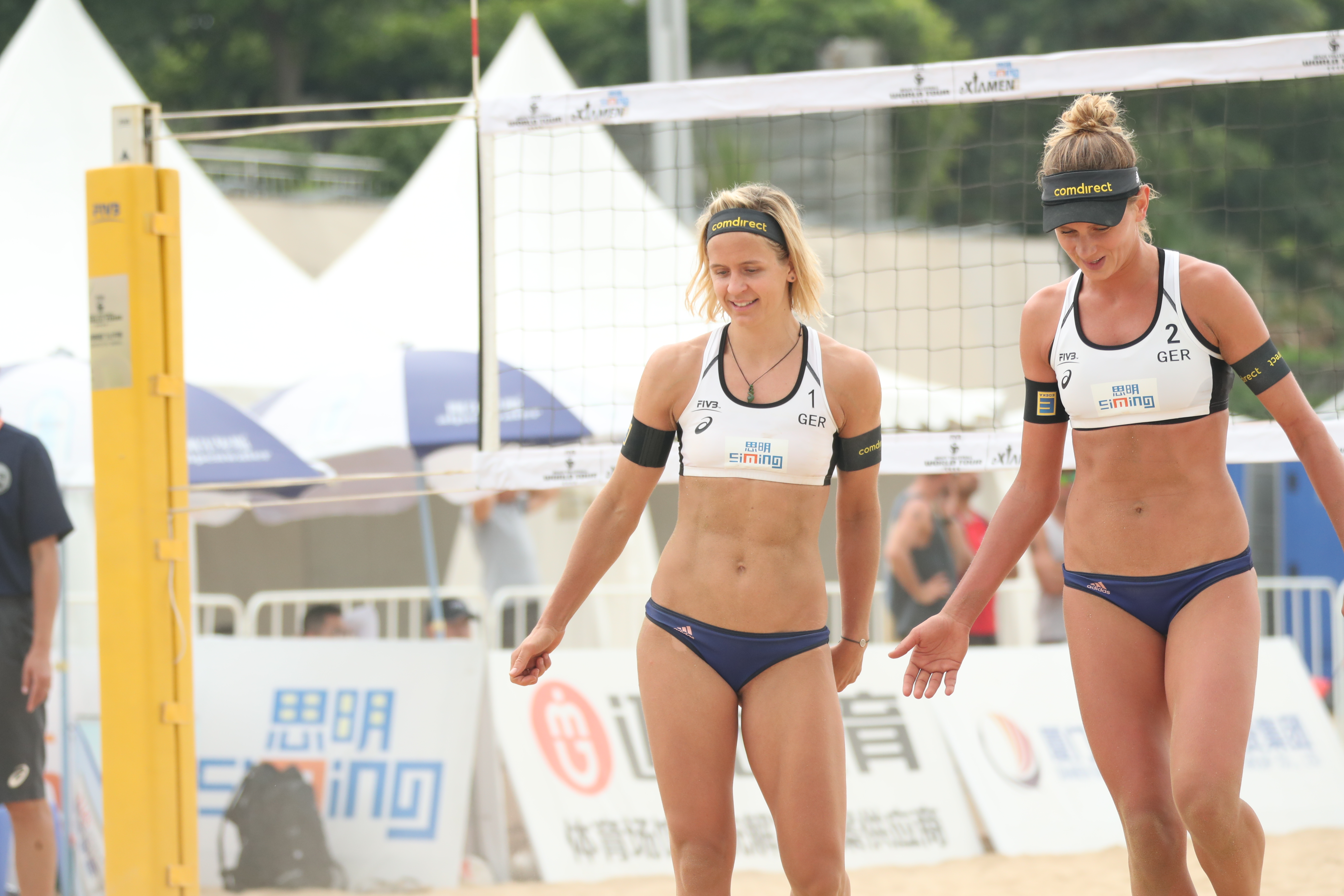 News First Serve Friday For 2019 Beach Volleyball World Championships