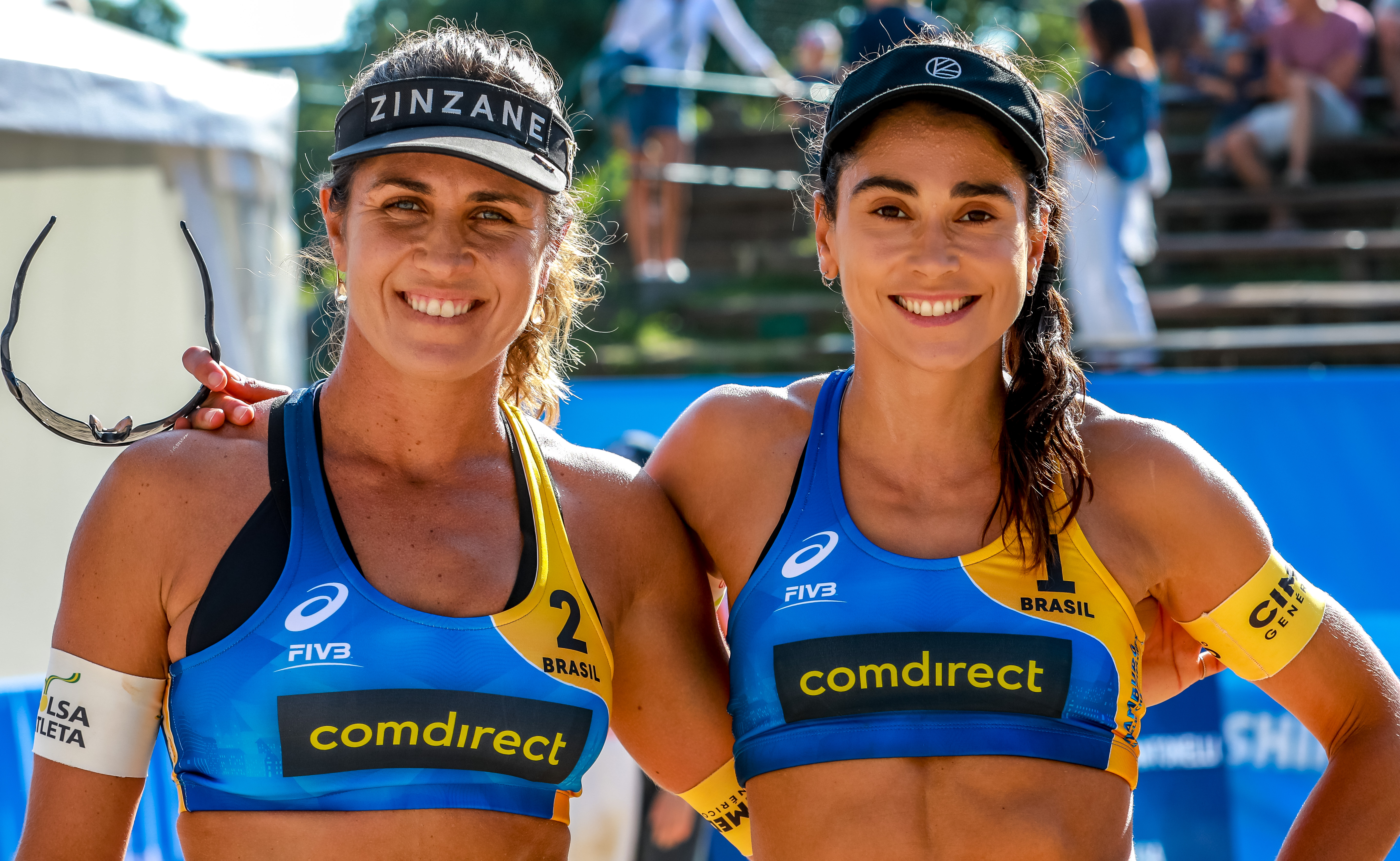 News Laura Ludwig Mother In The Morning Beach Volleyball Winner In The Evening At The Hamburg World Championships