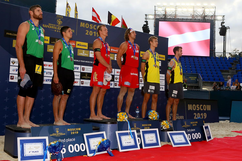 News - Samoilovs & Smedins defend Moscow title
