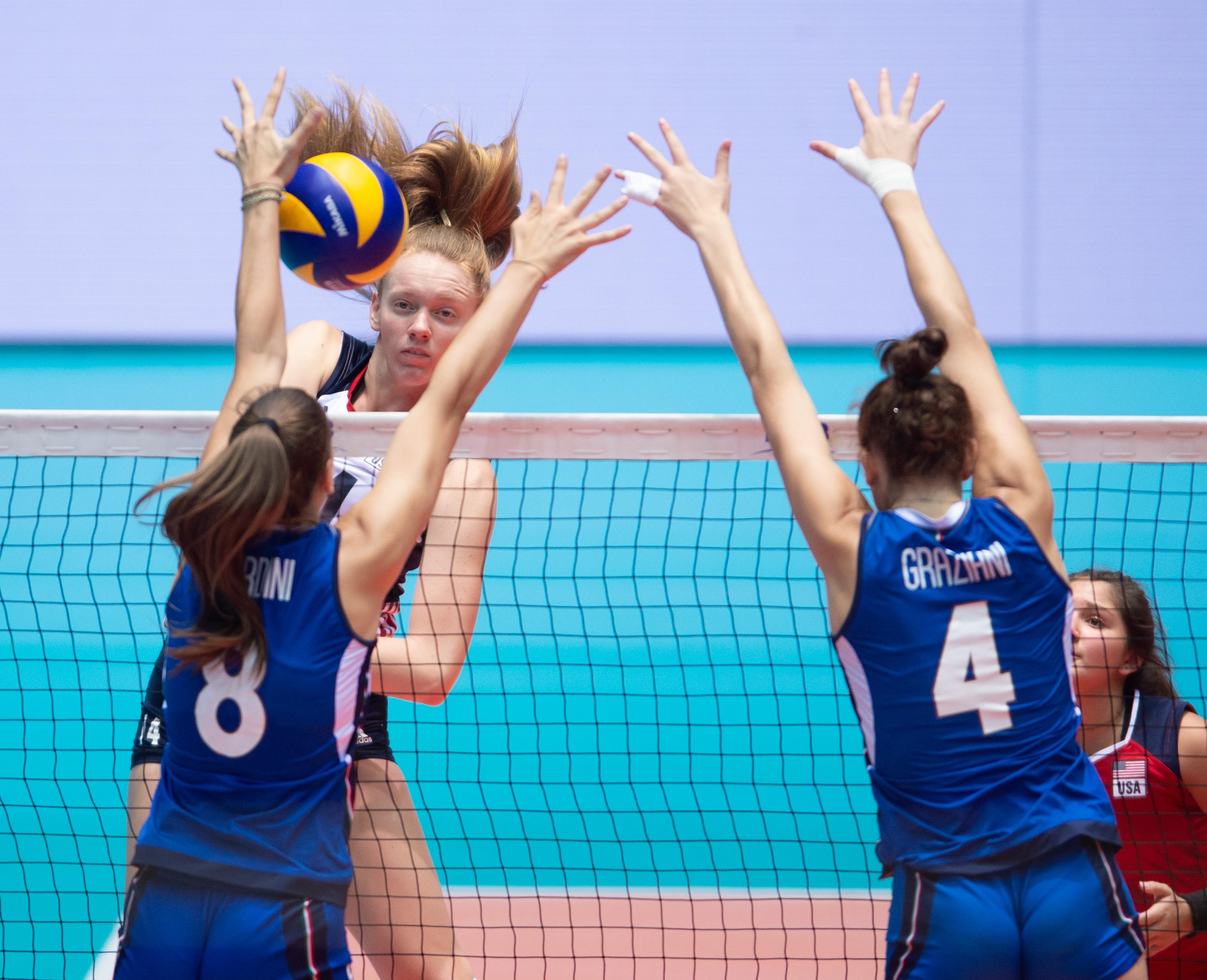 News - Phenomenal USA grab elusive Girls' U18 Worlds gold with epic Italy win
