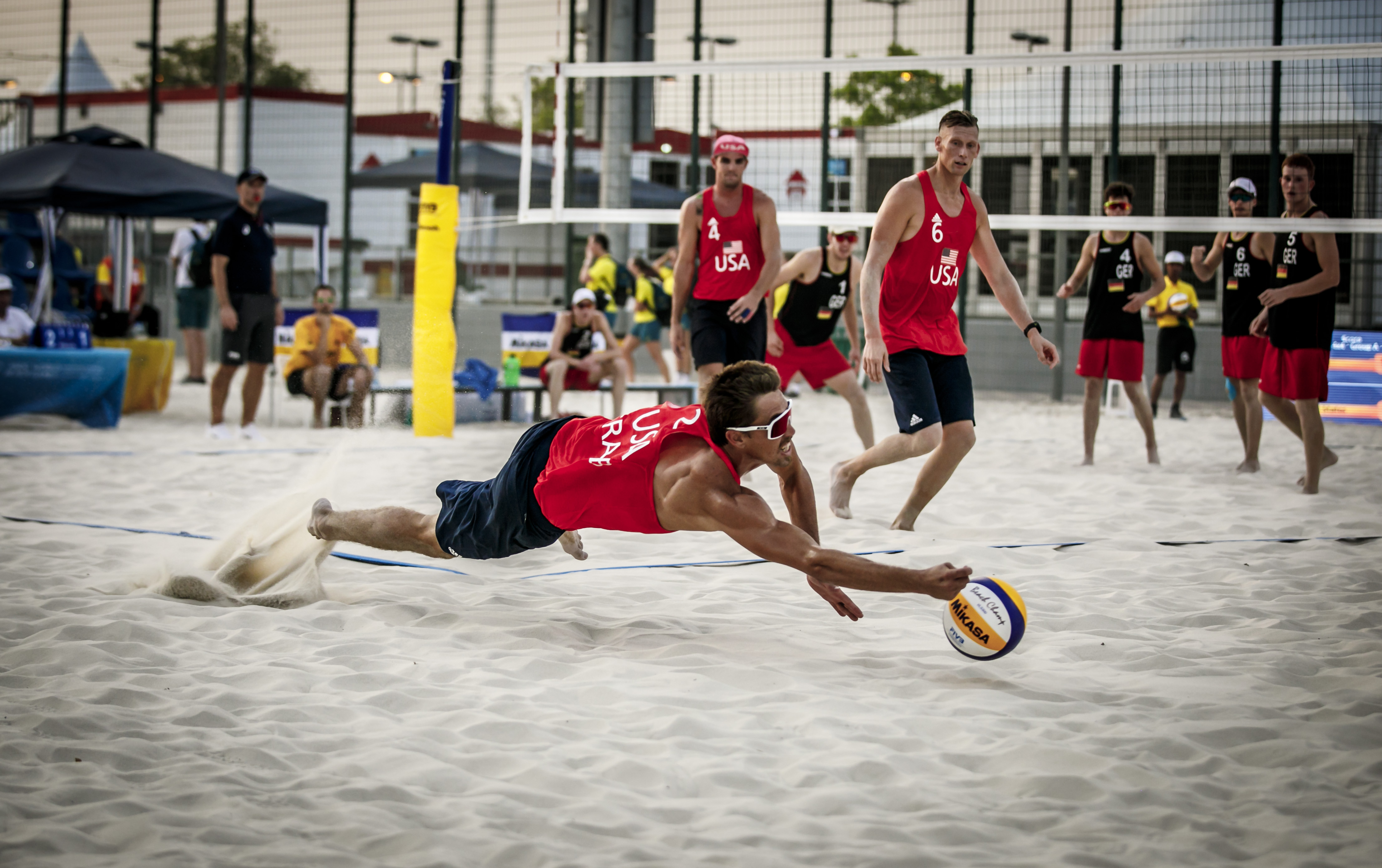 News - USA team: Four-men beach is very special to us