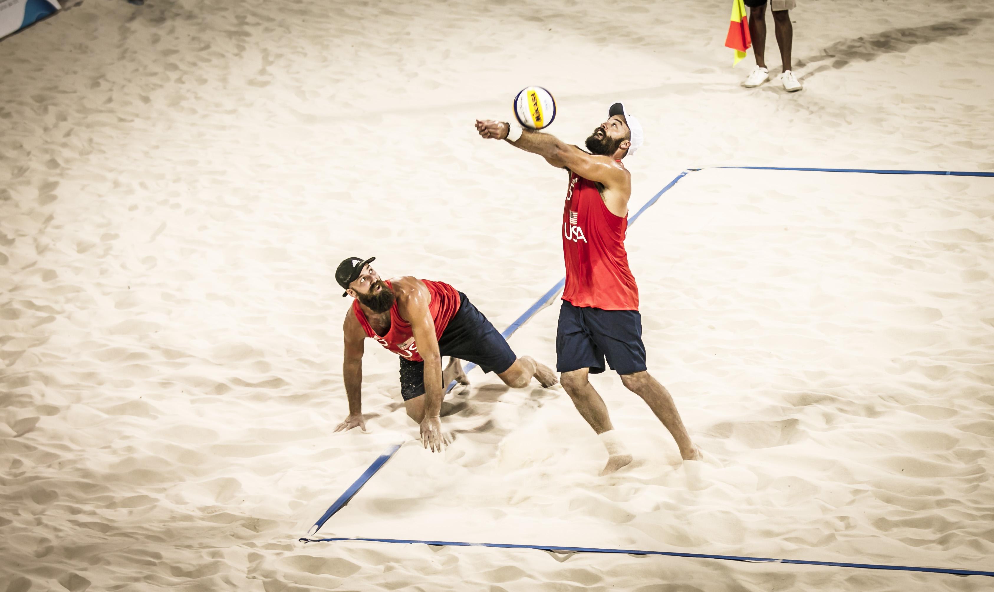 News - Qatar v USA in men's 4x4 final at World Beach Games
